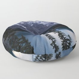 Moraine Lake Floor Pillow
