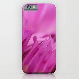 Dreamy Pink Dahlia iPhone Case