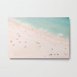 Beach Summer Bliss Metal Print