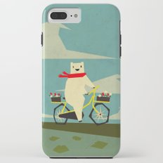 Yeti Taking a Ride iPhone 8 Plus Tough Case