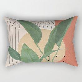 Nature Geometry V Rectangular Pillow