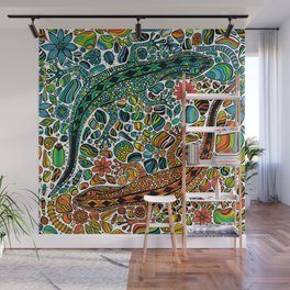 Find the geckos Wall Mural
