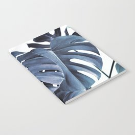 Blue Monsteras Notebook