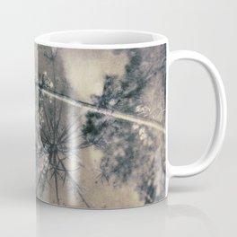 Queen Anne's Lace Vintage Landscape Coffee Mug