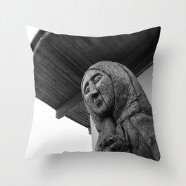 Progenitress Throw Pillow