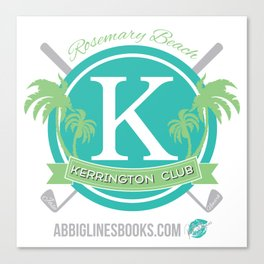 Rosemary Beach Kerrington Club Canvas Print
