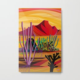Love Mountain Metal Print