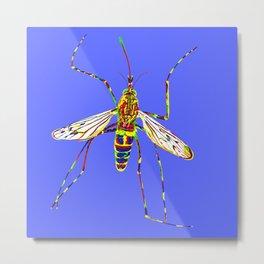 Mosquito Metal Print