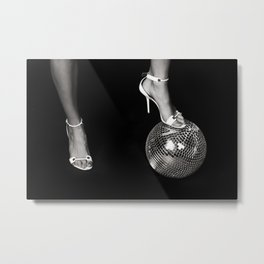 Disco Lies Metal Print