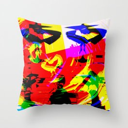 S|+U Throw Pillow