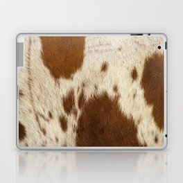 Pattern of a Longhorn bull cowhide. Laptop & iPad Skin