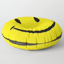 Smiley Happy Face Floor Pillow