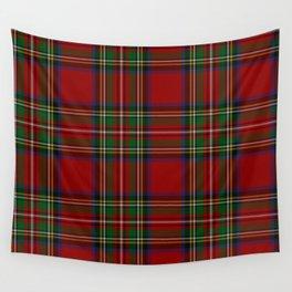 Royal Stewart Tartan Clan Wall Tapestry