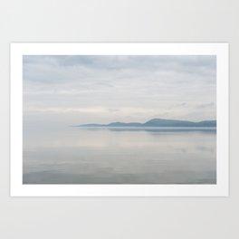 Champlain Lake - Vermont Art Print