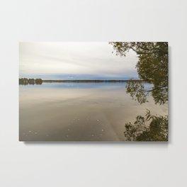 Autumn at the Lake 1 Metal Print