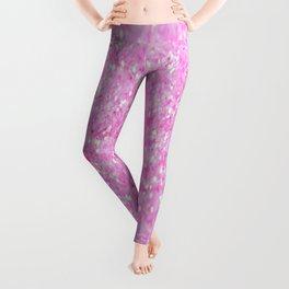 Pink Glitter Leggings