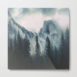 Cross Mountains II Metal Print