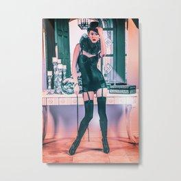 5024 Lady Mistress Natasha Metal Print