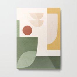 Abstract Art / Shapes 34 Metal Print