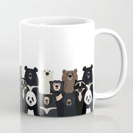 Bear family portrait Kaffeebecher