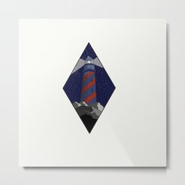 Night Siren Metal Print