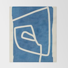 abstract minimal 57 Throw Blanket