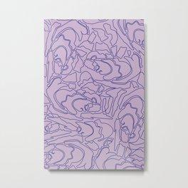 Pastel Pattern II Metal Print