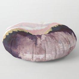Plum Forest Floor Pillow