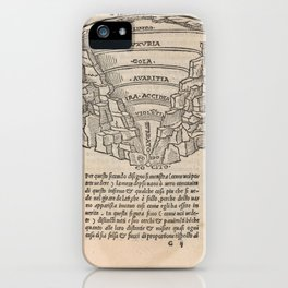 Overview of Hell iPhone Case