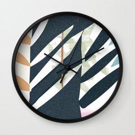 Sketchbook Jungle Wall Clock