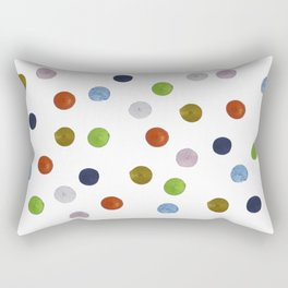 Pinpoint Dots Rectangular Pillow