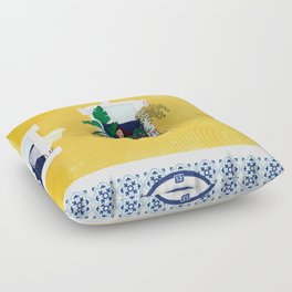 Lisbon girl Floor Pillow