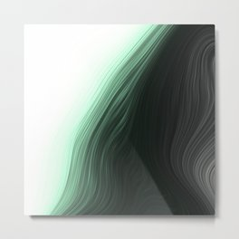 Soft Abstract 5 Metal Print