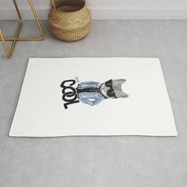 stay cool cat Rug