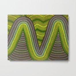 Aborigine abstract 9 Metal Print