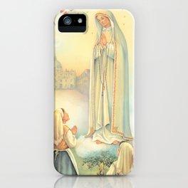 Virgen de Fátima iPhone Case