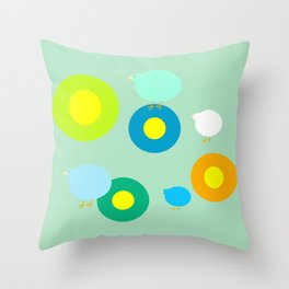 Surprise Throw Pillow