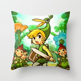 THE LEGEND OF ZELDA Throw Pillow
