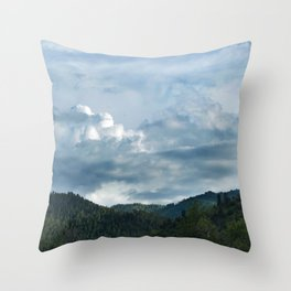 Princess Mononoke Landscape Throw Pillow