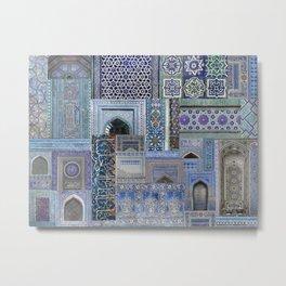 Moorish Mosiac Metal Print