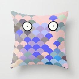 Fish Eyes Throw Pillow