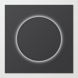 The Eclipse Canvas Print