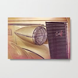 A Little Bit of Buick Metal Print