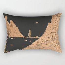 A Night in the Desert Rectangular Pillow
