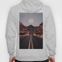 Road Red Moon Hoodie