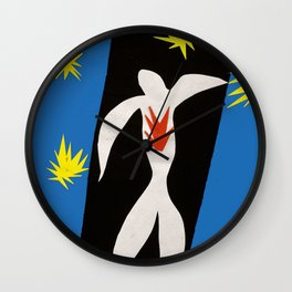 The Fall of Icarus, Henri Matisse Wall Clock