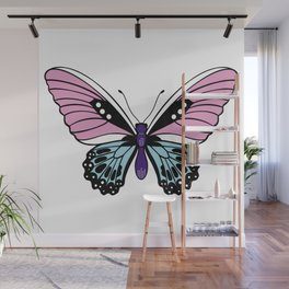 Butterfly Love Wall Mural