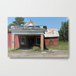 Old Country Store   Western NC Metal Print