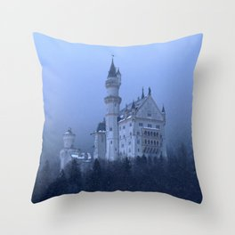 Neushweinstein Castle Throw Pillow