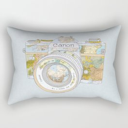 TRAVEL CAN0N Rectangular Pillow